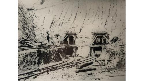 烏山頭水庫排水隧道取入口
