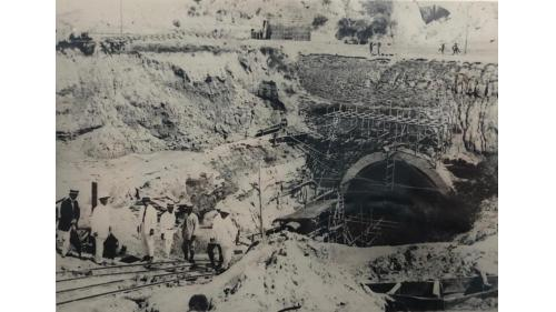 烏山頭水庫排水暗渠出口