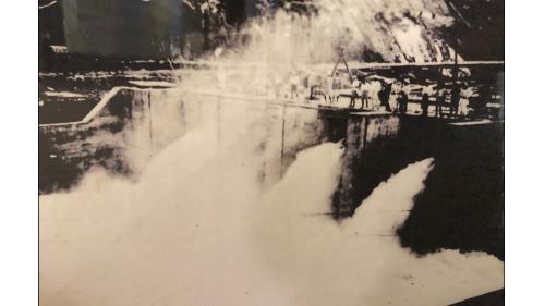烏山頭水庫第一次放水
