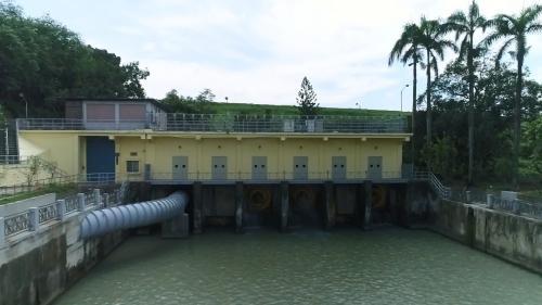 烏山頭水庫送水出口(舊)