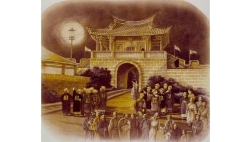 舊龜山電廠:台灣的第一盞電燈(1888年)