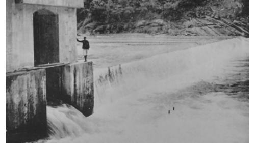舊龜山電廠:舊龜山壩