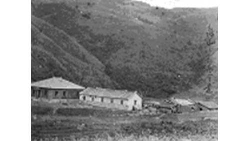 舊龜山電廠:1900年土倉氏於龜山的植林事務所