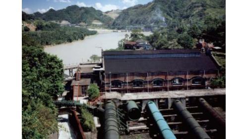 早期小粗坑電廠四條壓力鋼管