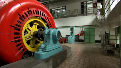 小粗坑電廠4號發電機