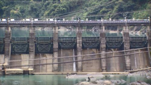 桂山電廠:桂山壩