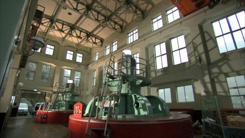 桂山電廠發電機組