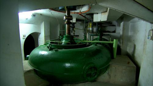 桂山電廠水輪機