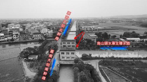 嘉南大圳南北分歧點