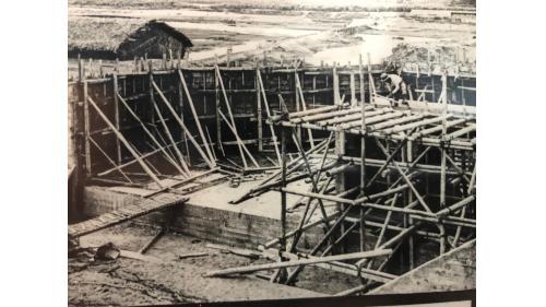 嘉南大圳:北港溪暗渠工程