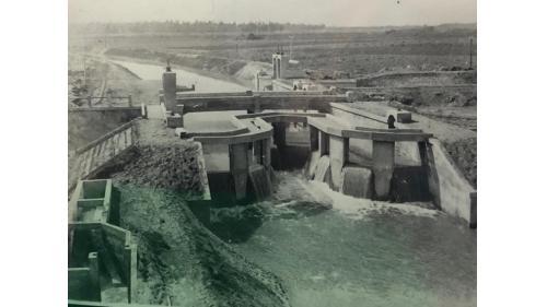 嘉南大圳:北港支線水井分線分水門
