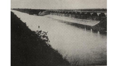 嘉南大圳:給水路濁幹線附屬第1號餘水吐