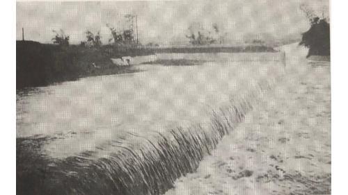 嘉南大圳:給水路濁幹線附屬第6號落水工