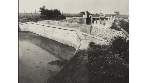 嘉南大圳麻豆支線分水、排水門