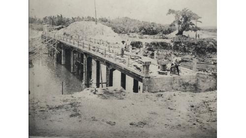 嘉南大圳麻豆支線排水路七號橋