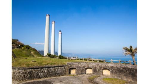 基隆港:基隆白米甕砲台與協合電廠