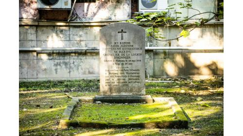 基隆港:法國公墓紀念公園(1885年)
