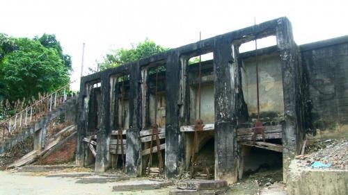 曹公圳五孔涵洞進水口業已停用。2004年公告為歷史建築,如今改由附近現代化的抽水站來取水注入曹公圳。