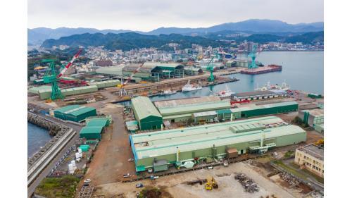 基隆港:台灣國際造船廠基隆總廠
