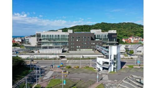 基隆港:基隆海洋科技博物館全景
