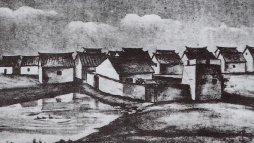台中港:W.A.Pockering(比麒麟)繪製之梧棲