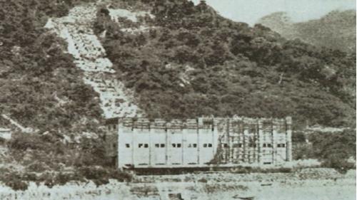台中港:台灣光復前未完成之天冷發電所