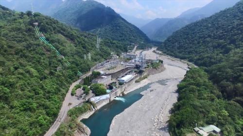 台中港:大甲溪發電廠(昔天冷發電所)