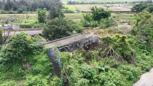 日治時期台中港環狀鐵路線鐵道橋遺跡