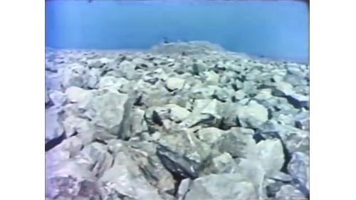 谷關取得每個超過100公斤以上作為開闢台中港填海之用的石塊