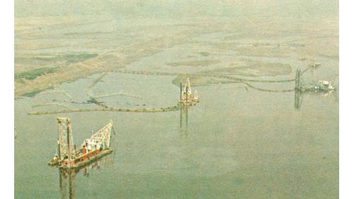 台中港建港挖泥船隊
