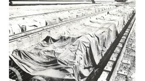 台中港5-8号棧橋式碼頭預力基椿製造蒸汽養生