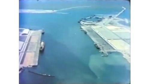 興建中的台中港1-3號碼頭及5-8碼頭