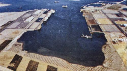台中港第一階段第二期儲木池浚挖工程