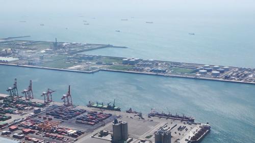 台中港西3至西7號石化品碼頭