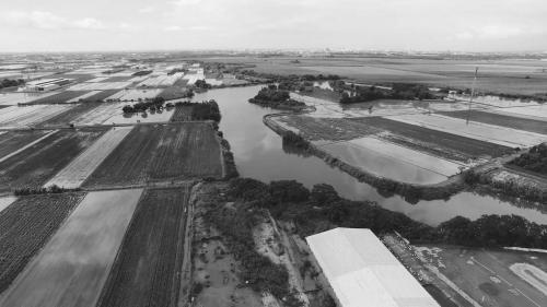 道將圳-嘉義太保鄉農田:但當雨水過多時,表土不是大量流失,就是滯留成澤,危害作物滋長。
