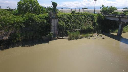 道將圳赤蘭溪導水口:赤蘭溪水沿線從導水口,注入八掌溪。