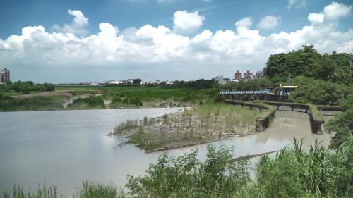 道將圳赤蘭溪水八掌溪導入口:再由八掌溪引入道將圳