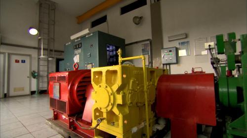 軟橋發電廠發電機組