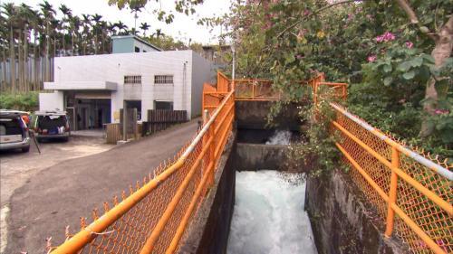 軟橋發電廠尾水出水口