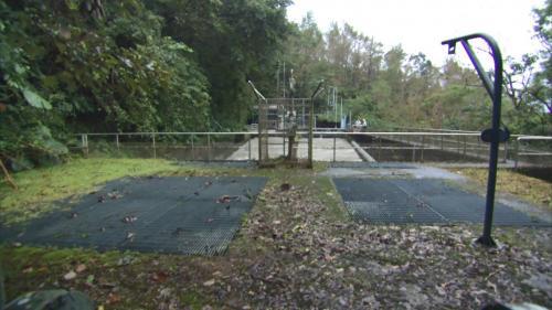 烏來電廠前池