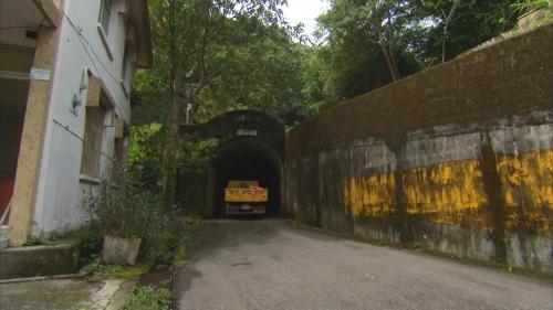 進烏來電廠之烏來隧道