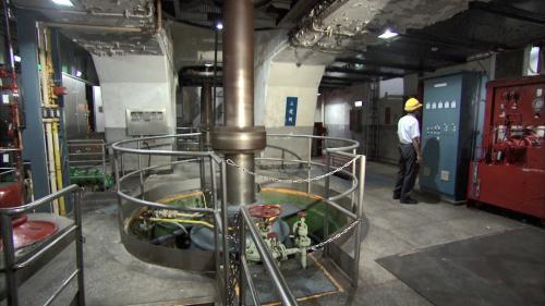 烏來電廠水輪機組