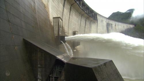 翡翠電廠水源翡翠水庫洩洪