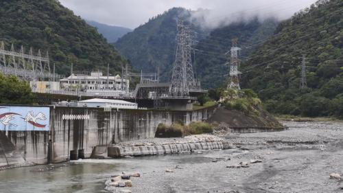 引白冷圳水發電之天輪發電廠