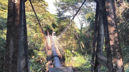 白冷圳矮山支線過水吊橋