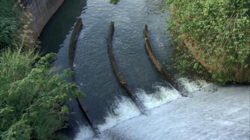 白冷圳水流域-食水嵙溪