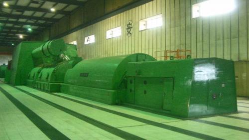 林口電廠舊林一機:1978 年起,舊林一機開始全力燃煤運轉。