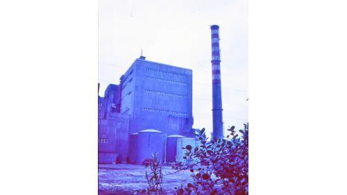 林口電廠舊林二機外觀