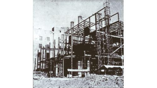 北部火力電廠三、四號機組擴建鋼構