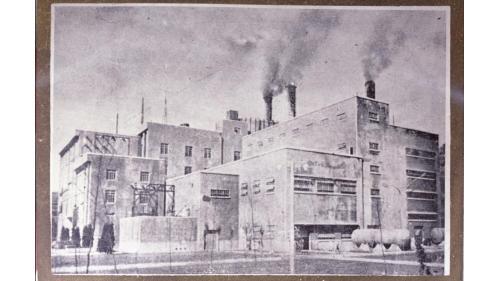1955年擴建後之北部火力電廠